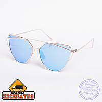 Солнцезащитные очки золотистые - 30121, фото 1