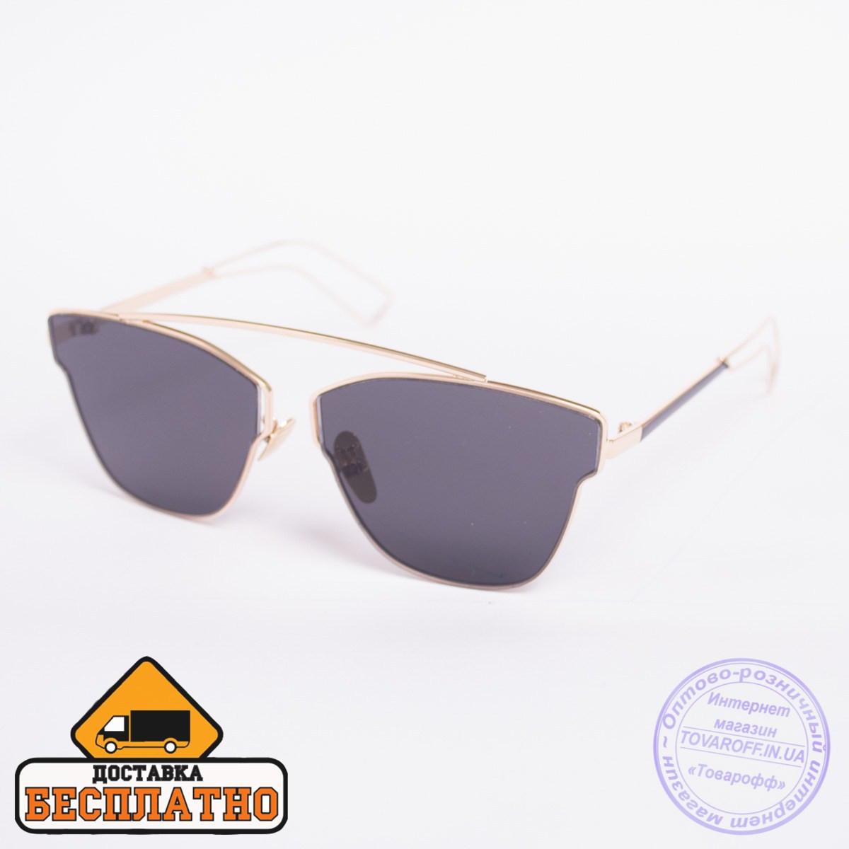 Солнцезащитные очки золотистые с бесплатной доставкой - 2838