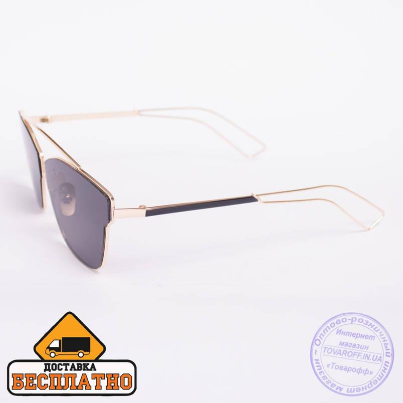 Солнцезащитные очки золотистые с бесплатной доставкой - 2838, фото 2