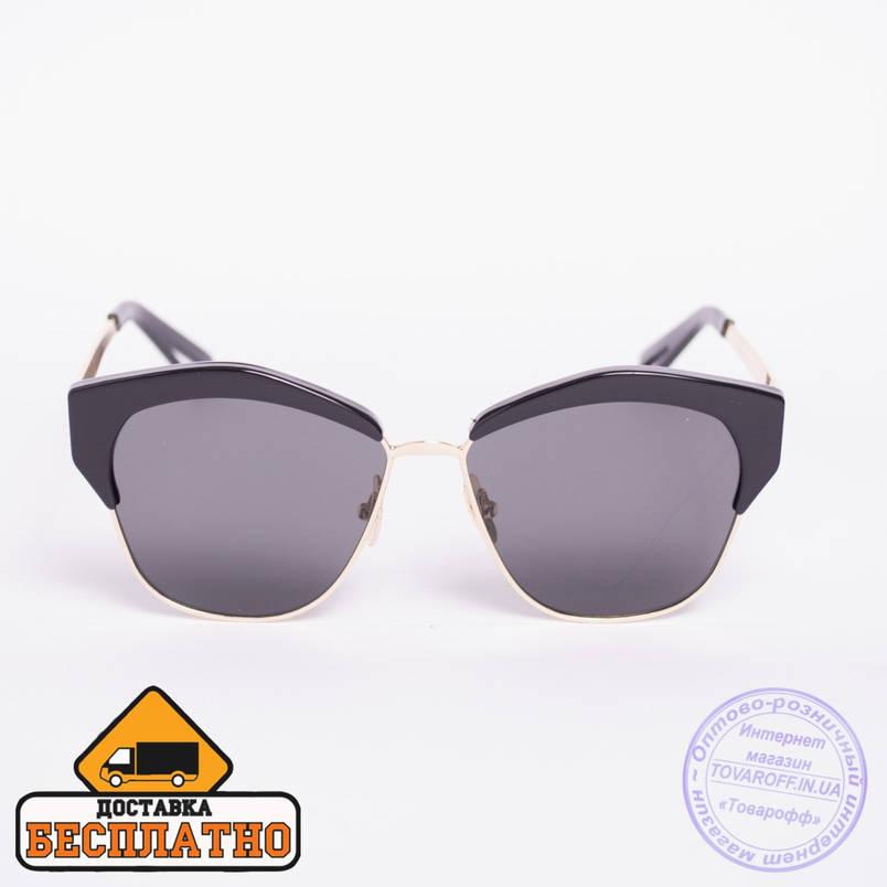 Солнцезащитные очки броулайнер черные - 2832, фото 2