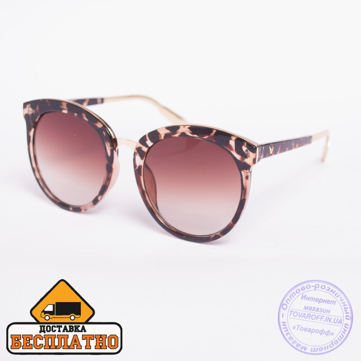 Солнцезащитные очки черные - 2824