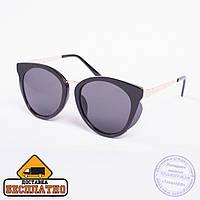 Солнцезащитные очки черные - 2817, фото 1
