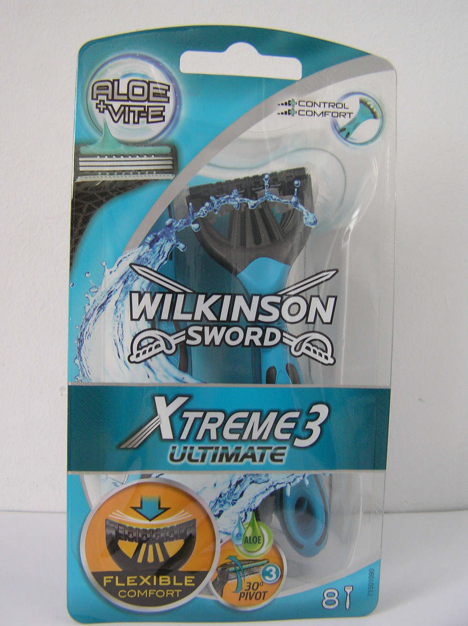 Станки одноразовые мужские для бритья Schick Wilkinson Sword  Xtreme 3 ultimate 8 шт. (Шик Вилкинсон Экстрим)