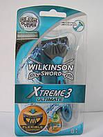 Станки одноразовые мужские для бритья Schick Wilkinson Sword  Xtreme 3 ultimate 8 шт. (Шик Вилкинсон Экстрим), фото 1
