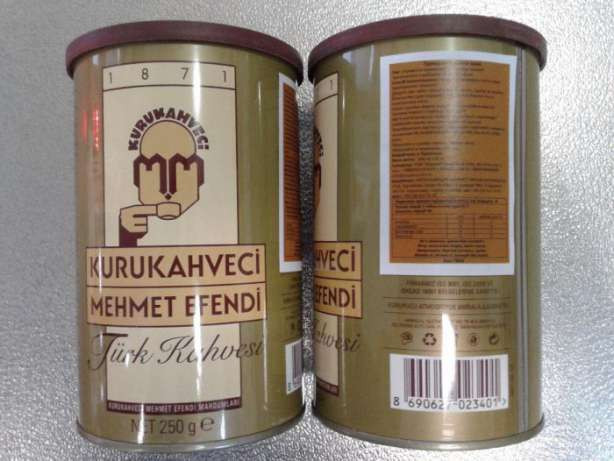 Кофе турецкий молотый 250 г (Turkish Coffee) - MEHMET EFENDI