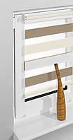 Рулонные шторы 69*230см Белый/кремовый/латте Vidella Zebra Trikolor