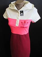 Спортивные трикотажные платья для молодежи.