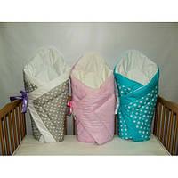 Конверты,одеяла на выписку для новорожденного (Зима, холодная весна, осень)