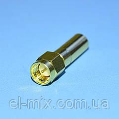 Штекер SMA обжимной под кабель H155/RG58  WTY0280