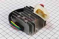 """Реле-регулятор напруги 5 проводів - """"5"""" (роз'єм великий """"тато"""") (скутер 125-150куб.см)"""