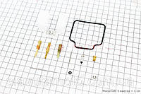 Ремонтный к-кт карбюратора 150сс, 15 деталей+поплавок  (скутер 125-150куб.см), фото 1