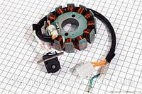 Статор магнето (12 катушек)  (скутер 125-150куб.см)