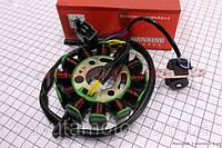Статор магнето (12 котушок) JIANXING (скутер 125-150куб.см)