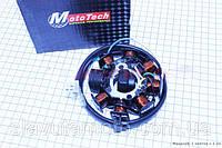 Статор магнето (8 катушек) Mototech  (скутер 125-150куб.см)