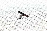 Тройник пластиковый под шланг топливный  (скутер 125-150куб.см)