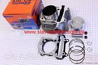 Цилиндр к-кт (цпг) 150cc-57,4мм (GXmotor)  (скутер 125-150куб.см)