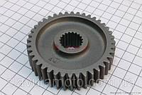 Шестерня валу редуктора вторинного (скутер 125-150куб.см), фото 1