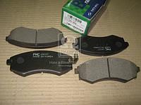 Колодки тормозные дисковые HYUNDAI AVANTE XD (PARTS-MALL). PKA-003