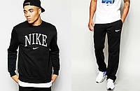 Костюм спортивный найк,Nike - черный