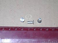 Заклепка 4х10 накладки колодки тормоза ГАЗ 24 (1кг - 2350шт) (Украина). 1\05328\03