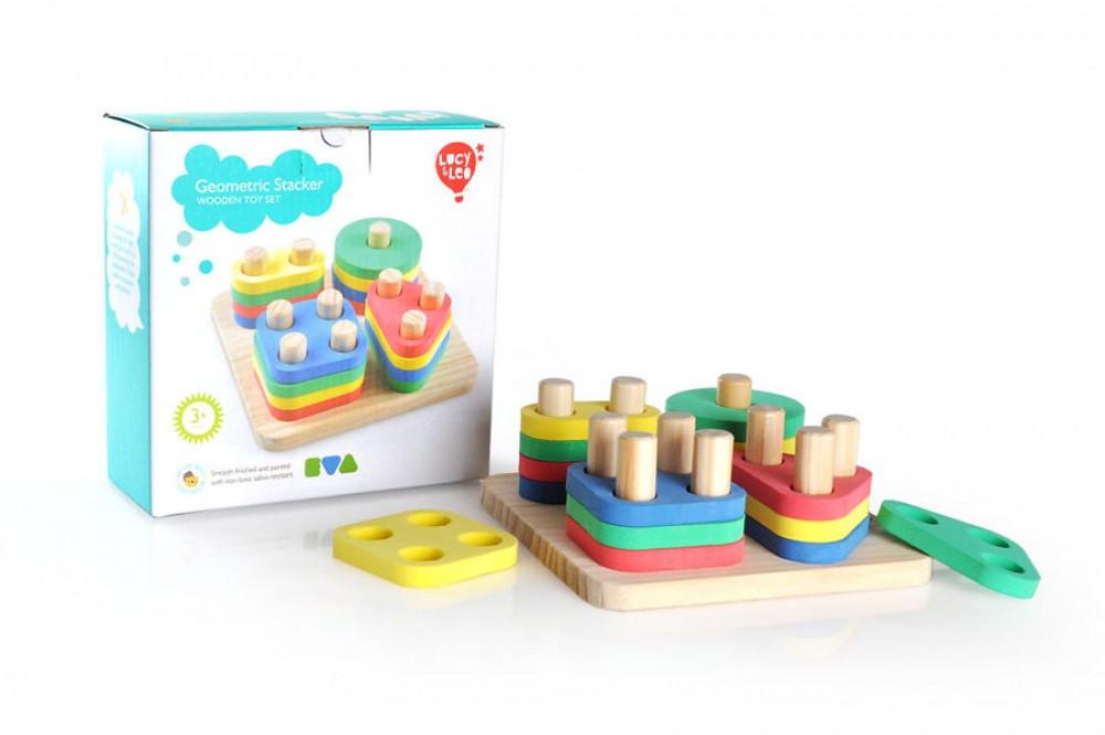 Деревянная игрушка Логический квадрат МДИ LL110