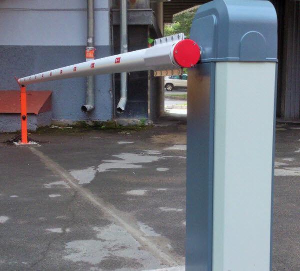 Шлагбаум c круглой рейкой для проезда 6 м. ASB6000 An-Motors