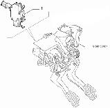 Датчик стоп сигнала FIAT (Doblo/Qubo/Fiorino) (оригинальный), фото 3