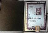 """Блокнот подарунковий з замком """"TO MY OWN FUTURE"""", фото 3"""