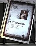 """Блокнот подарунковий з замком """"TO MY OWN FUTURE"""", фото 4"""