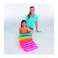 Надувная плотик-подушка для плаванья