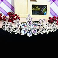 """Красивая диадема / тиара """"Диана"""" для невесты или на выпускной."""