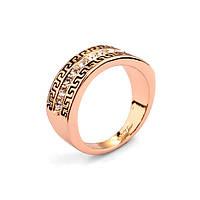 Кольцо ГРЕЦИЯ LUX ювелирная бижутерия золото 18К кристаллы Swarovski