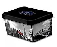 Ящик для хранения 6 л Deco`s CITY PARIS
