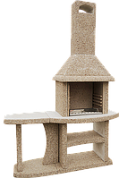 Камин-Барбекю «ОЛИМП ПРИМО» с 1 столом