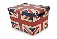 Ящик для хранения 6 л Deco`s BRITISH FLAG