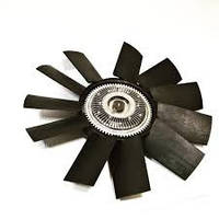 Вентилятор системы охлаждения (крыльчатка) Газель NEXT дв.Cummins 2.8 с вязкостной муфтой 11 лоп. (Россия)