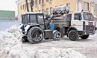 Уборка  вывоз снега в Киеве