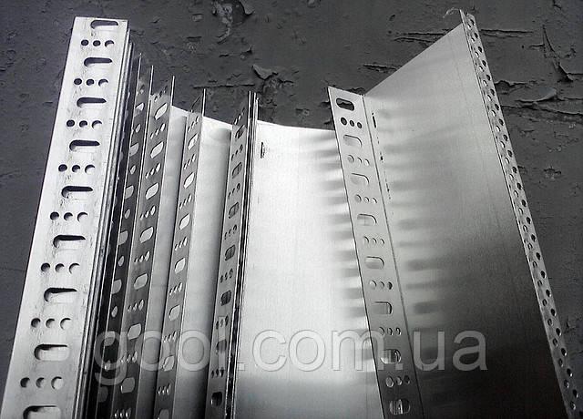 Профиль цокольный (стартовый) алюминиевый 103 мм. длина 2,0 м.п. (толщина алюминия 0,8 мм) - фото 3
