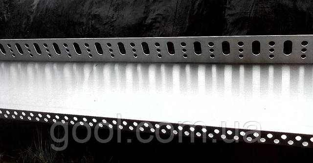 Профиль цокольный (стартовый) алюминиевый 103 мм. длина 2,0 м.п. (толщина алюминия 0,8 мм) - фото 4