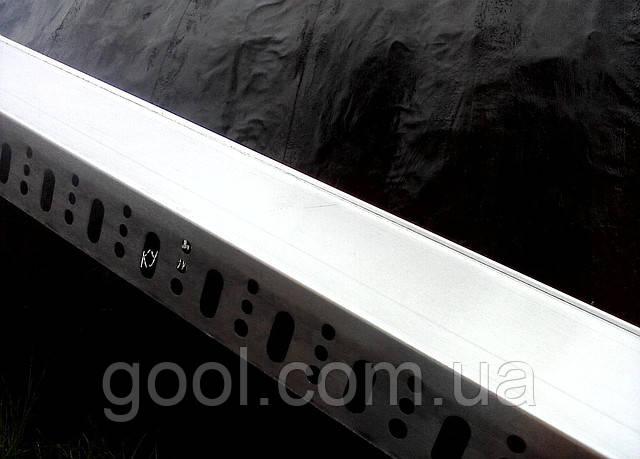 Профиль цокольный (стартовый) алюминиевый 103 мм. длина 2,0 м.п. (толщина алюминия 0,8 мм) - фото 5