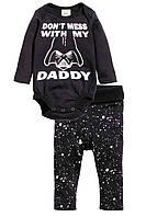 """Трикотажный комплект для новорожденного """"Star Wars""""  2-4, 6-9 месяцев"""
