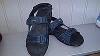 Мужские  синие Accord кожаные сандали . Украина