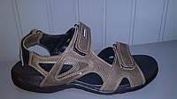 Мужские  коричневые Accord кожаные сандали . Украина