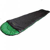 Спальный мешок High Peak Easy Travel / +5°C (Left) Black/green, фото 1