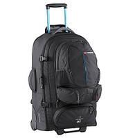 Сумка-рюкзак на колесах Caribee Sky Master 80 Black