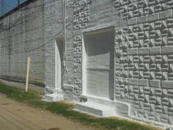 Теплоизоляция фасадов напылением ППУ, фото 2