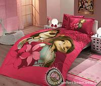 Постельное белье HOBBY License Ranforce Max темно-розовый 160х220