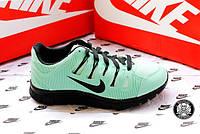Женские беговые кроссовки Nike Free Run Бірюзові