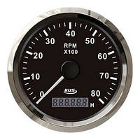KUS BS Тахометр/счетчик моточасов для лодочного мотора 0-8000RPM - CMHB-BS-8KL