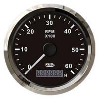 KUS BS Тахометр/счетчик моточасов для лодочного мотора 0-6000RPM - CMHB-BS-6KL